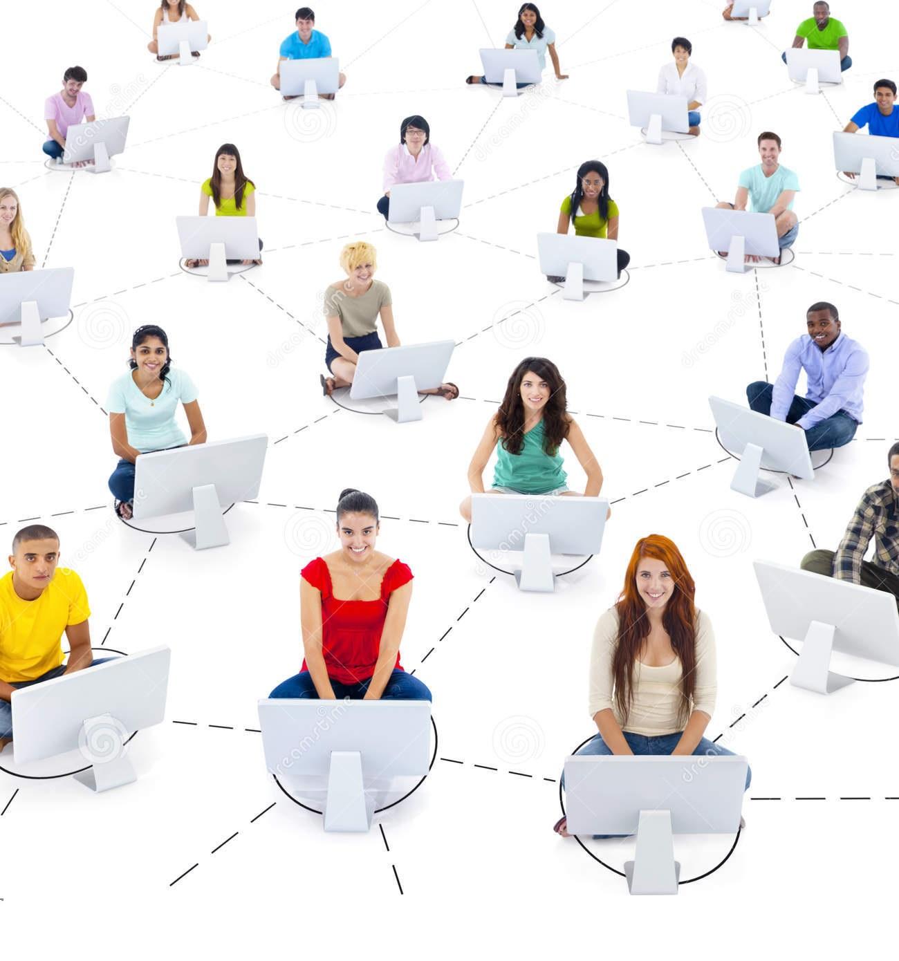 Réseau réseau-d' étudiant en marketing-et-communication digitale